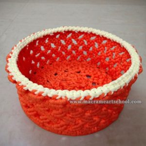 Macrame Basket / Fruit Basket