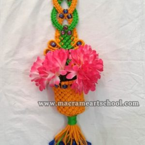 Macrame Flower Wall Hanging # 3001